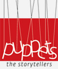 A great web designer: Puppets, Trivandrum, India logo