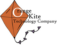 A great web designer: Orange Kite Technology, Jacksonville, FL logo