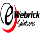 A great web designer: Ewebrick Solutions, Faridabad, India logo