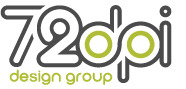 A great web designer: 72 DPI - Design Group, Houston, TX logo