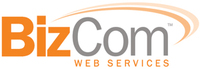 A great web designer: BizCom Web Services, Inc., Raleigh, NC logo