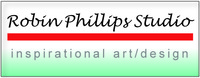 A great web designer: Robin Phillips Studio - Inspirational Art/Design, Portland, OR logo