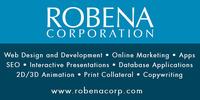 A great web designer: Robena Corp., Houston, TX logo