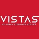A great web designer: Vistas AD Media , Bangalore, India logo
