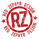 A great web designer: Red Zephyr Design, Jacksonville, FL logo