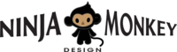 A great web designer: Ninja Monkey Design, Detroit, MI logo