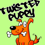 A great web designer: Twisted Puppy, Los Angeles, CA logo
