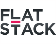 A great web designer: FlatStack, New Orleans, LA logo