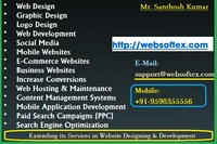 A great web designer: Websoftex Software Solutions Pvt Ltd, Bangalore, India logo