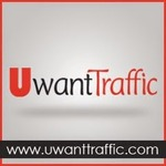 A great web designer: uwanttraffic, Dubai, United Arab Emirates logo