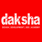 A great web designer: Daksha Design, Chandigarh, India logo