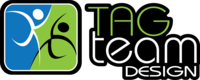 A great web designer: Tag Team Design, Denver, CO logo