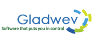A great web designer: Gladwev Software, New York, NY logo