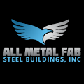 A great web designer: All Metal Fab Steel Buildings, Inc., Colorado Springs, CO logo