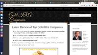 A great web designer: Goldira-companies, Sacramento, CA logo
