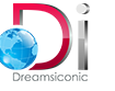 A great web designer: Dreamsiconic, Noida, India logo