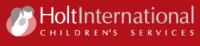 A great web designer: Holt International Children's Services, Eugene, OR logo