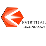 A great web designer: Evirtual Technology, Ahmedabad, India logo