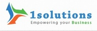 A great web designer: 1Solutions, New York, NY logo
