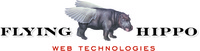 A great web designer: Flying Hippo, Des Moines, IA logo