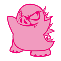 A great web designer: Pigzilla, Tampa, FL logo