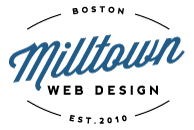 A great web designer: Milltown Web Design, Boston, MA logo