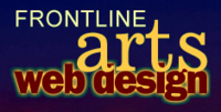 A great web designer: Frontline Arts Web Design, San Francisco, CA logo