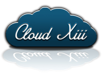 A great web designer: Cloud XIII, Washington DC, DC logo