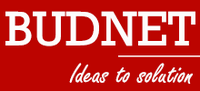 A great web designer:  Budnet Design, Coimbatore, India logo