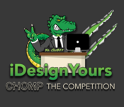 A great web designer: www.idesignyours.com, New York, NY logo