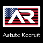 A great web designer: Astute Recruit USA, Chicago, IL logo