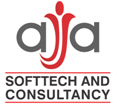 A great web designer: AJA SoftTech, New York, NY logo