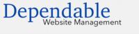 A great web designer: Dependable Website Management, Fort Lauderdale, FL logo