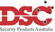 A great web designer: DSC Security Products, Sydney, Australia logo