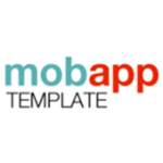 A great web designer: Mobile App Template, California, CA logo