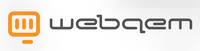 A great web designer: webqem, Sydney, Australia logo