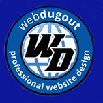 A great web designer: WebDugout, Long Island, NY logo