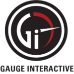 A great web designer: Gauge Interactive, Denver, CO logo