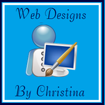 A great web designer: Web Designs by Christina, Orlando, FL logo