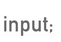 A great web designer: input;, London, United Kingdom logo