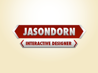 A great web designer: Jason Dorn, Calgary, Canada logo