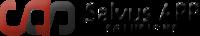 A great web designer: Salvus app solutions, Jabalpur, India logo