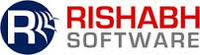 A great web designer: Rishabh Software, San Jose, CA logo
