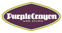 A great web designer: Purple Crayon Web Studio, Chicago, IL logo