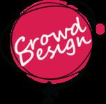 A great web designer: Crowd Design, Breslau, Poland logo