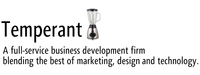 A great web designer: Temperant, Dallas, TX