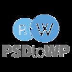 A great web designer: PSDtoWP, Groningen, Netherlands logo
