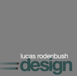A great web designer: rodenbush design, Los Angeles, CA logo