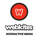 A great web designer: Webkites Interactive Media, Chennai, India logo