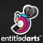 A great web designer: Entitledarts, Hyderabad, India logo
